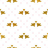 Valentines pattern Royalty Free Stock Image