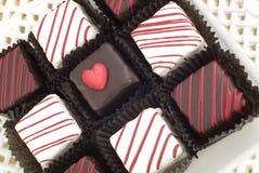 Valentines Petit Fours Stock Image