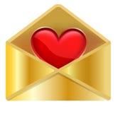 Valentines post Stock Photo