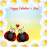 Valentines postcard Royalty Free Stock Photos