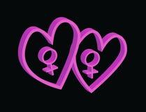 Valentines pour des femmes illustration de vecteur