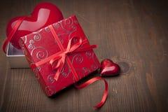 Valentines present Stock Photo