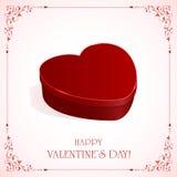 Valentines present Stock Photography