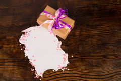 Valentines present still life Royalty Free Stock Photos