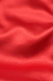 Valentines red background. Red silk background - can be used for Valentines themes Stock Image