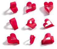 Valentines red heart Royalty Free Stock Photography