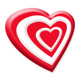 Valentines red heart Royalty Free Stock Photos