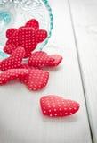 Valentines rouges photos stock