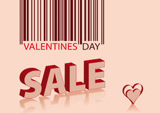Valentines sale Royalty Free Stock Image