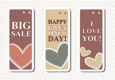 Valentines sale Stock Images