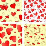 Valentines sans joint de vecteur Image libre de droits