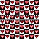 Valentines seamless Royalty Free Stock Image