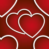 Valentines seamless pattern Royalty Free Stock Images