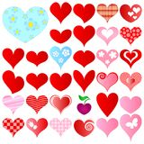 Valentines set Royalty Free Stock Photography