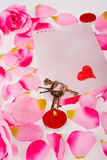 Valentines still life Royalty Free Stock Photos