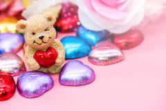 Valentines and Sweetest day. Sweet Chocolate for Valentines and Sweetest day royalty free stock images
