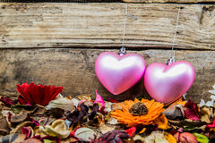Valentines and Sweetest day. Valentine and Sweetest day decoration royalty free stock photo
