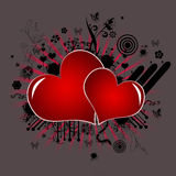 Valentines symbol of love Stock Images