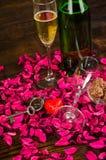 Valentines toast still life royalty free stock photography