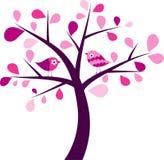 Valentines tree background Royalty Free Stock Image