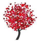 Valentines tree Royalty Free Stock Images