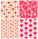 Valentines wallpapers Stock Images