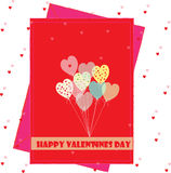 Valentines wishes Royalty Free Stock Photography