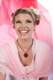 Valentinflicka Royaltyfri Fotografi