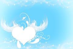 Valentinhjärta arkivbild