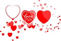 Valentinhjärta Royaltyfri Foto