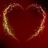 Valentinhjärta Royaltyfri Fotografi