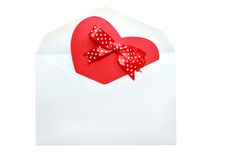 Valentinkort Royaltyfria Foton