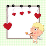 Valentinkort Royaltyfria Bilder