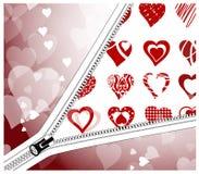 Valentinkort Arkivfoton