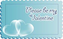 Valentinkort Fotografering för Bildbyråer