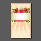 Valentinkortkrus av sötsaker Royaltyfri Fotografi