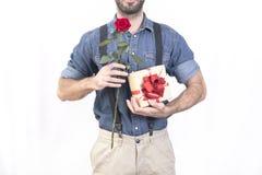 Valentinman royaltyfria bilder