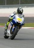 Valentino 2009 Rossi della squadra di Fiat Yamaha Fotografie Stock Libere da Diritti