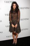 Valentino,Abigail Spencer Royalty Free Stock Photos