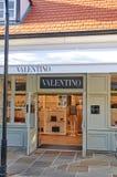 Valentino boutique in La Vallee Village. Royalty Free Stock Image
