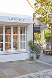 Valentino boutique in La Vallee Village. Royalty Free Stock Images