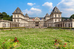 Valentino Castle in Turin, Italy. Stock Photography