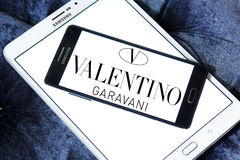 Valentino Garavani logo Stock Images
