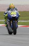 Valentino italiano Rossi de las personas de Autorización Yamaha Foto de archivo