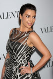 Valentino,Kim Kardashian Stock Photography