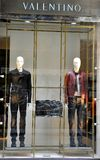 Valentino man fashion store in Italy  Stock Photo