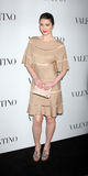 Valentino,Mary Elizabeth Winstead Stock Photography