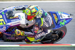 Valentino Rosi. MotoGP Royalty Free Stock Photos