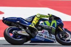 Valentino Rosi. Yamaha Team Royalty Free Stock Images