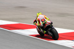 Valentino Rossi της ομάδας Ducati Marlboro Στοκ εικόνα με δικαίωμα ελεύθερης χρήσης